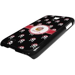 Pirate Plastic Samsung Galaxy 4 Phone Case (Personalized)