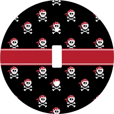 Pirate Round Light Switch Cover (Personalized)