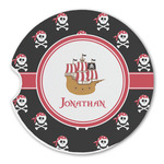 Pirate Sandstone Car Coasters (Personalized)