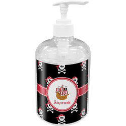 Pirate Acrylic Soap & Lotion Bottle (Personalized)
