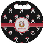 Pirate Stadium Cushion (Round) (Personalized)