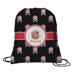 Pirate Drawstring Backpack (Personalized)