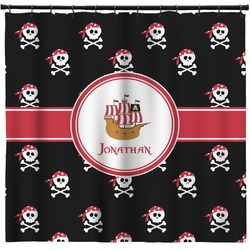 Pirate Shower Curtain (Personalized)