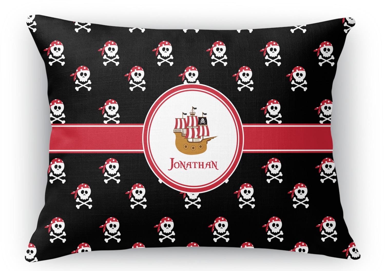 Rectangular Throw Pillow Dimensions : Pirate Rectangular Throw Pillow - 18