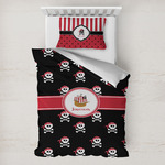 Pirate Toddler Bedding w/ Name or Text