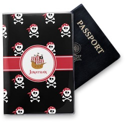 Pirate Vinyl Passport Holder (Personalized)