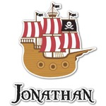 Pirate Graphic Decal - Custom Sized (Personalized)
