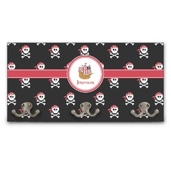 Pirate Wall Mounted Coat Rack (Personalized)
