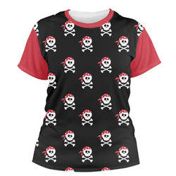 Pirate Women's Crew T-Shirt (Personalized)