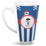 Blue Pirate 16 Oz Latte Mug (Personalized)