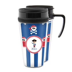 Blue Pirate Acrylic Travel Mugs (Personalized)