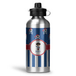 Blue Pirate Water Bottle - Aluminum - 20 oz (Personalized)
