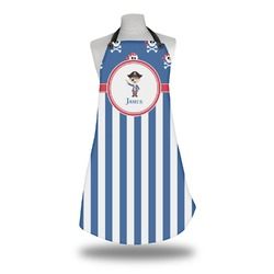 Blue Pirate Apron (Personalized)