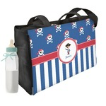Blue Pirate Diaper Bag w/ Name or Text