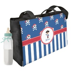Blue Pirate Diaper Bag (Personalized)