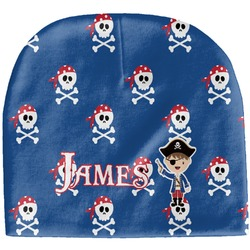 Blue Pirate Baby Hat (Beanie) (Personalized)