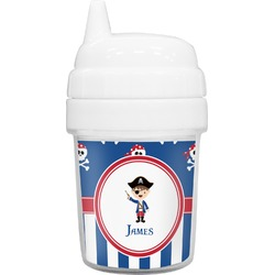 Blue Pirate Baby Sippy Cup (Personalized)
