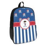 Blue Pirate Kids Backpack (Personalized)