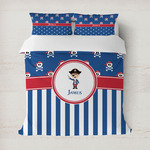 Blue Pirate Duvet Covers (Personalized)