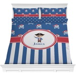 Blue Pirate Comforter Set (Personalized)