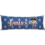Blue Pirate Body Pillow Case (Personalized)