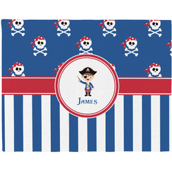 Blue Pirate Placemat (Fabric) (Personalized)