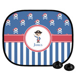 Blue Pirate Car Side Window Sun Shade (Personalized)
