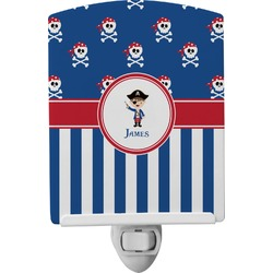 Blue Pirate Ceramic Night Light (Personalized)