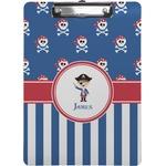 Blue Pirate Clipboard (Personalized)