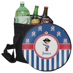 Blue Pirate Collapsible Cooler & Seat (Personalized)