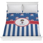Blue Pirate Comforter (Personalized)
