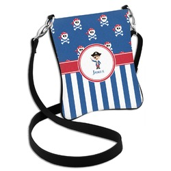 Blue Pirate Cross Body Bag - 2 Sizes (Personalized)