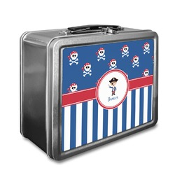 Blue Pirate Lunch Box (Personalized)