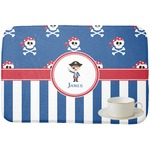 Blue Pirate Dish Drying Mat (Personalized)