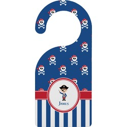 Blue Pirate Door Hanger (Personalized)