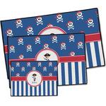 Blue Pirate Door Mat (Personalized)
