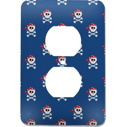 Blue Pirate Electric Outlet Plate (Personalized)