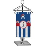 Blue Pirate Finger Tip Towel - Full Print (Personalized)