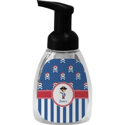 Blue Pirate Foam Soap Dispenser (Personalized)