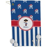 Blue Pirate Golf Towel - Full Print (Personalized)