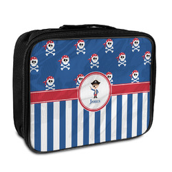 Blue Pirate Insulated Lunch Bag (Personalized)
