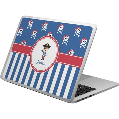 Blue Pirate Laptop Skin - Custom Sized (Personalized)
