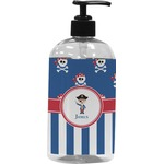Blue Pirate Plastic Soap / Lotion Dispenser (Personalized)