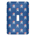 Blue Pirate Light Switch Cover (Single Toggle) (Personalized)