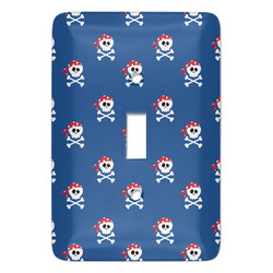 Blue Pirate Light Switch Covers - Multiple Toggle Options Available (Personalized)