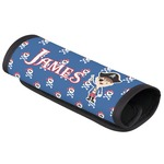 Blue Pirate Luggage Handle Cover (Personalized)