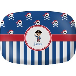 Blue Pirate Melamine Platter (Personalized)