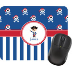 Blue Pirate Mouse Pads (Personalized)