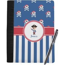 Blue Pirate Notebook Padfolio (Personalized)