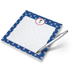 Blue Pirate Notepad (Personalized)